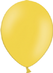 "10"" Pastel/Standard Bright Yellow Latex Balloon"